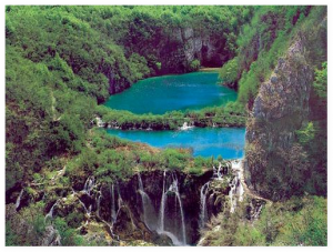 Хорватя плицвицкие озера